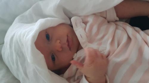 Og dette er lille Indie-Amanda